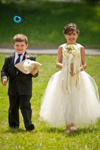 both kids wedding