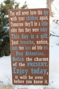 parenting sign
